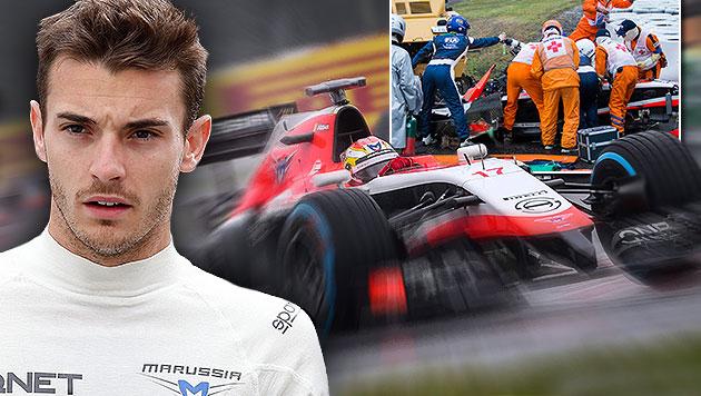 Bianchi hat laut FIA Teilschuld! Zu wenig gebremst (Bild: APA/EPA/AHMAD YUSNI, APA/EPA/DIEGO AZUBEL, APA/EPA/H.  YAMAMURA)