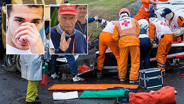 Bianchi: F-1-Pilot nach langem Koma verstorben (Bild: APA/EPA/HIROSHI YAMAMURA, APA/EPA/DIEGO AZUBEL, APA/EPA/CZEGLEDI)