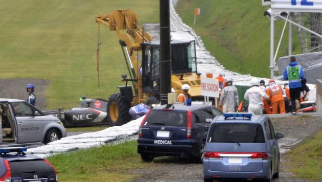 Bianchi hat laut FIA Teilschuld! Zu wenig gebremst (Bild: AP)