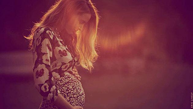 """Auf ihrer Lifestyle-Webseite """"Preserve"""" postete Blake Lively ein Foto, das ihren Babybauch zeigt. (Bild: www.preserve.us)"""