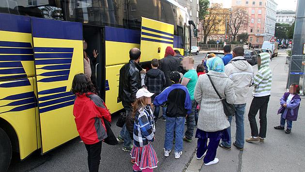Flüchtlinge zogen in 2. Wiener Asyl-Quartier ein (Bild: Andi Schiel)