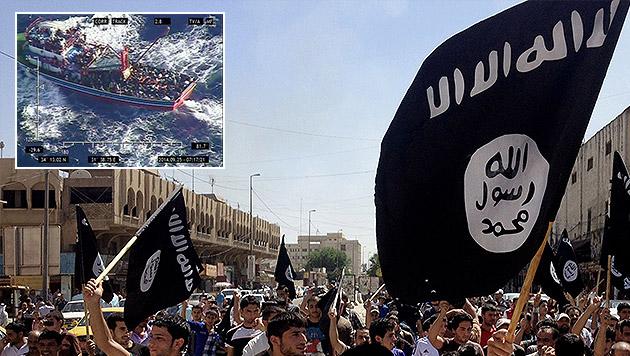 """IS-""""Heimkehrer"""" auf Flüchtlingsboot gefasst (Bild: EPA/CYPRUS DEFENCE MINISTRY, AP)"""