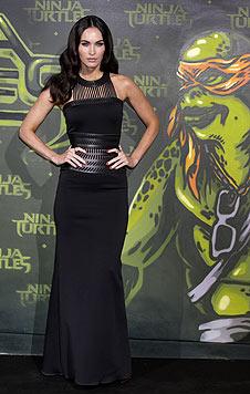 Gerne betont die Schönheit ihre Kurven mit figurbetonten Kleidern. (Bild: EPA)