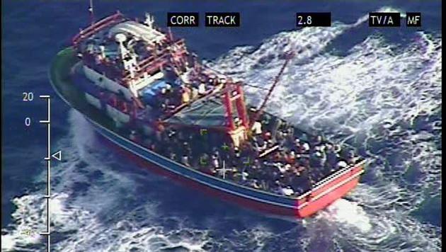 Österreichische Flugzeuge sollen Leben retten (Bild: APA/EPA/CYPRUS DEFENCE MINISTRY / HANDOUT)