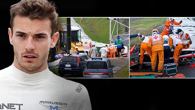 Wäre Bianchi-Crash zu vermeiden gewesen? (Bild: AP, APA/EPA/VALDRIN XHEMAJ, APA/EPA/HIROSHI YAMAMURA)