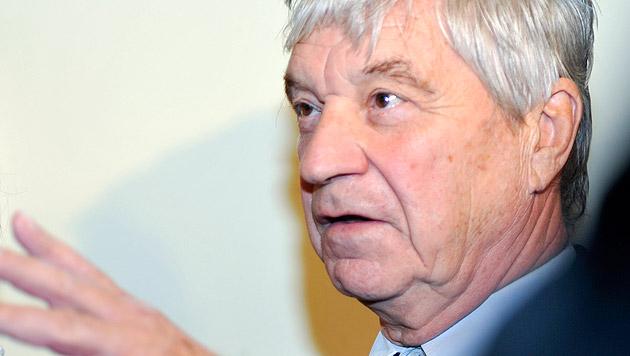 Karl Bernhauser erhebt schwere Vorwürfe gegen den Hersteller des Kleinbusses. (Bild: APA/HERBERT NEUBAUER)