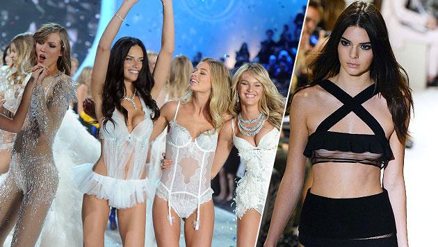 """Wird Kendall Jenner ein Victoria""""s-Secret-Engerl? (Bild: AP, AFP)"""