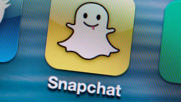 Yahoo will bei Foto-Dienst Snapchat einsteigen (Bild: APA/dpa)