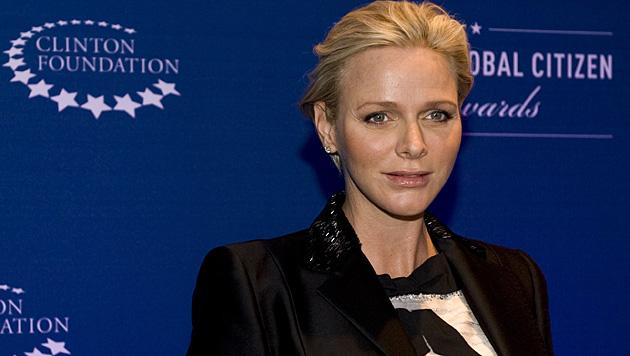 Charlene ist mit Zwillingen schwanger. (Bild: AFP)
