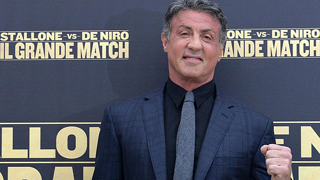"""""""Ich brauchte ein paar Dollar"""", rechtfertigt Sylvester Stallone seine Rolle in """"Italian Stallion"""". (Bild: APA/EPA/ETTORE FERRARI)"""
