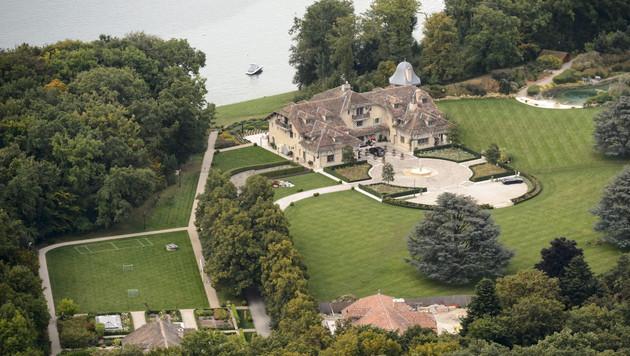 Das Anwesen von Michael Schumacher am Genfer See (Bild: APA/EPA/LAURENT GILLIERON)