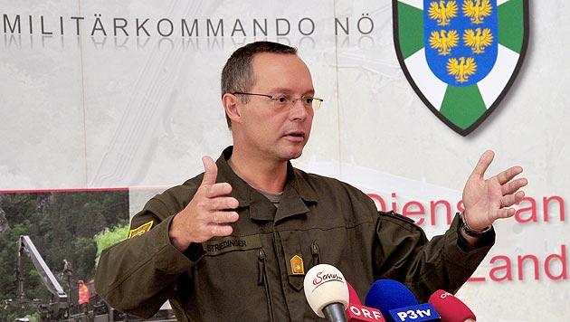 Rudolf Striedinger, Militärkommandant von Niederösterreich (Bild: APA/Bundesheer/Helmut Kreimel)