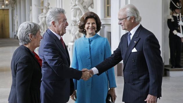 Bundespräsident Heinz Fischer zu Besuch in Schweden (Bild: APA/HARALD SCHNEIDER)