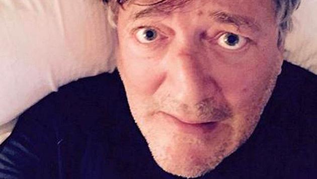 Stephen Fry spendete ebenfalls fünf Pfund für Unicef - und teilte dieses Selfie mit den Fans. (Bild: twitter.com/stephenfry)