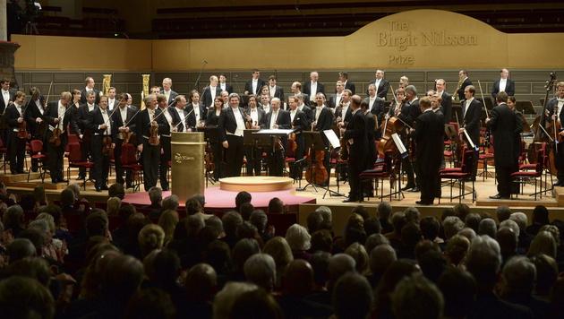 """Nobelpreis"" für Musik an Wiener Philharmoniker (Bild: APA/EPA/FREDRIK SANDBERG)"