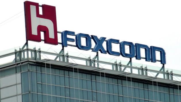 Apple-Zulieferer Foxconn will Sharp übernehmen (Bild: APA/EPA/DAVID CHANG)