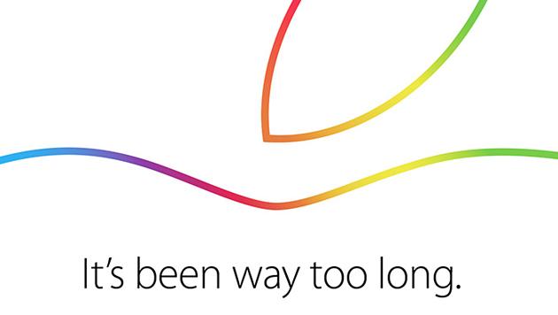 Apple lädt zu Presse-Event am 16. Oktober (Bild: Apple)