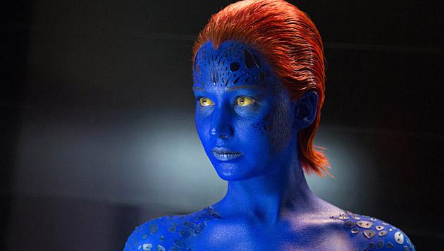"""Im neuen """"X-Men""""-Streifen ist Jennifer Lawrence wieder als Mystique zu sehen. (Bild: AP)"""