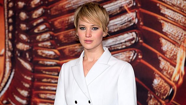 """Jennifer Lawrence bei der Premiere von """"Hunger Games - Catching Fire"""" (Bild: EPA)"""