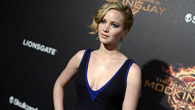 Jennifer Lawrence liebt coole Outfits, doch ist niemals zu aufreizend angezogen. (Bild: Arthur Mola/Invision/AP)
