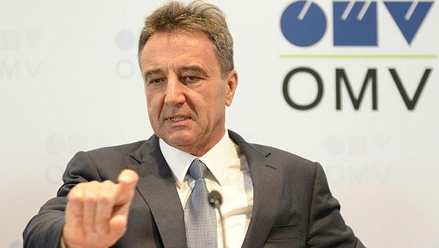 OMV-Chef Roiss verdiente 2014 fast 4,5 Mio. Euro (Bild: APA/Herbert Neubauer)