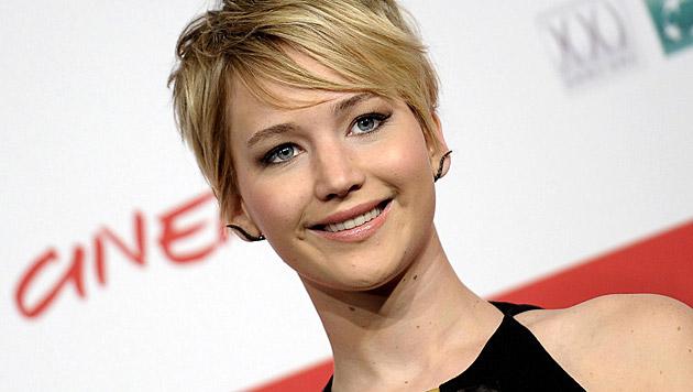 Jennifer Lawrence ist ein sympathischer Star. (Bild: EPA)