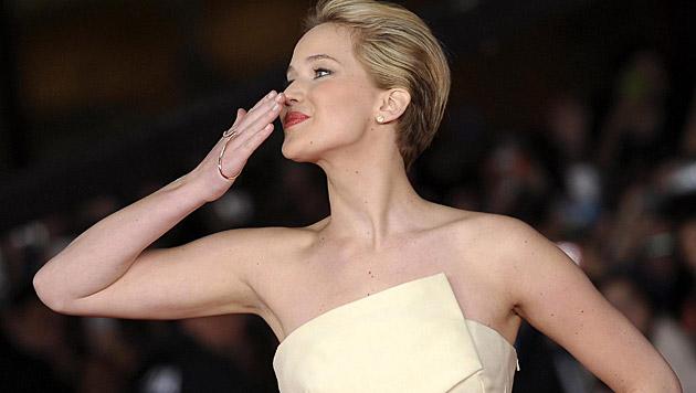Alle lieben Jennifer Lawrence! (Bild: EPA)