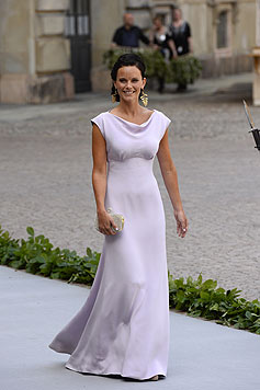 Sofia Hellqvist bei der Hochzeit von Prinzessin Madeleine mit Christopher O'Neill (Bild: AFP)