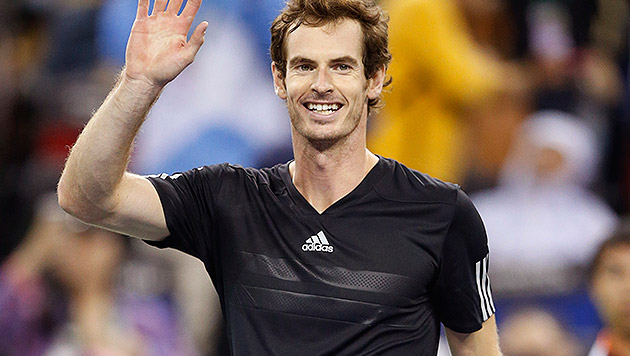 Andy Murray! Superstar spielt in der Stadthalle (Bild: AP)