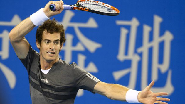 Andy Murray! Superstar spielt in der Stadthalle (Bild: APA/EPA/DIEGO AZUBEL)