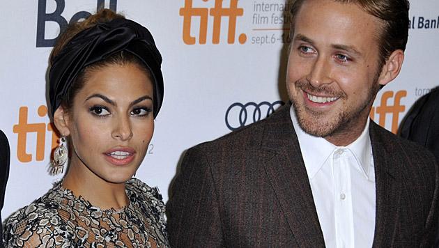 Die Tochter von Eva Mendes und Ryan Gosling heißt Esmeralda Amada Gosling. (Bild: APA/EPA/WARREN TODA)