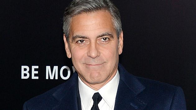 George Clooney scherzte über seine Flitterwochen. (Bild: Evan Agostini/Invision/AP)