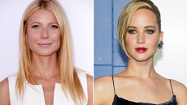 Gwyneth Paltrows Hang zu glutenfreier Ernährung gleiche einer Essstörung, findet Jennifer Lawrence. (Bild: Dan Steinberg/Invision/AP, Charles Sykes/Invision/AP)