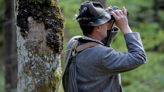 Keine Polizei-Befugnisse für steirische Jäger (Bild: APA/BARBARA GINDL)