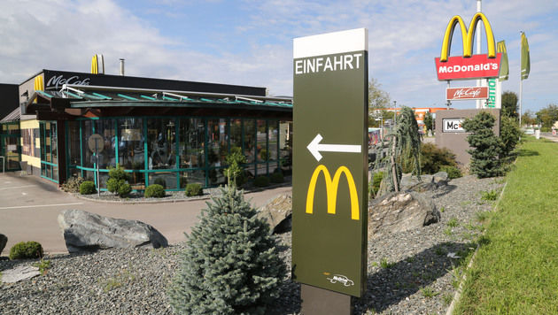 "Kärntner McDonald""s-Filiale zum 4. Mal überfallen (Bild: Uta Rojsek-Wiedergut)"