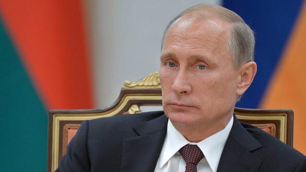 Den höchsten Orden des Weltverbandes bekam Putin und das gab Ärger (Bild: APA/EPA/ALEXEY NIKOLSKY / RIA NOVOSTI / KREMLIN)