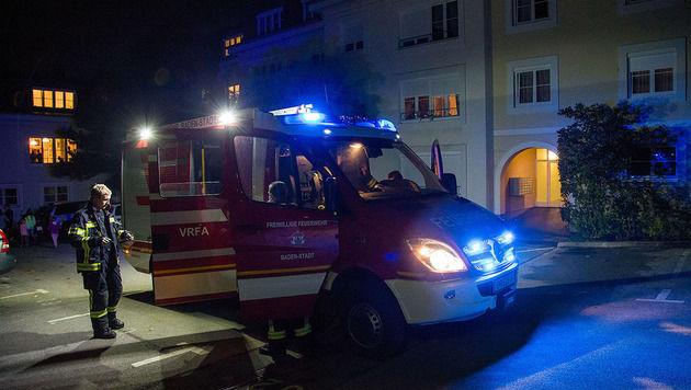 Die Feuerwehr musste zu einem ungewöhnlichen Einsatz ausrücken. (Bild: Freiwillige Feuerwehr Baden-Stadt)