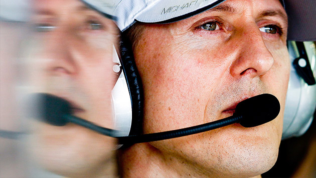 Schumacher: War Helmkamera am Drama schuld? (Bild: APA/EPA/DIEGO AZUBEL)