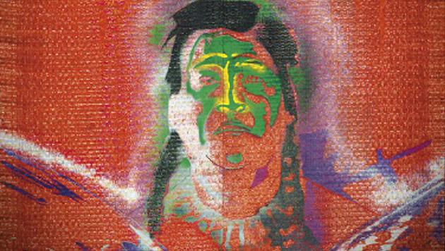 "Sigmar Polkes ""Indianer mit Adler"" (Bild: Christies.com)"