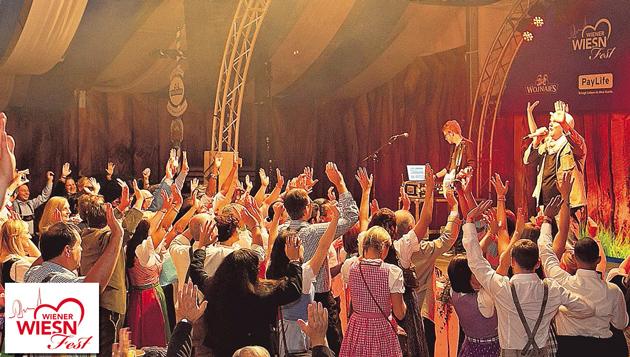 Ein Brauchtumsfest der Superlative (Bild: Roland Rudolph, Harald Klemm)