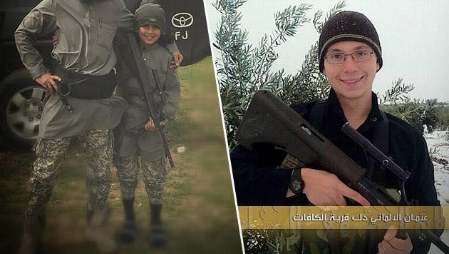 Kämpfen IS-Terroristen mit Steyr-Sturmgewehren? (Bild: twitter.com)