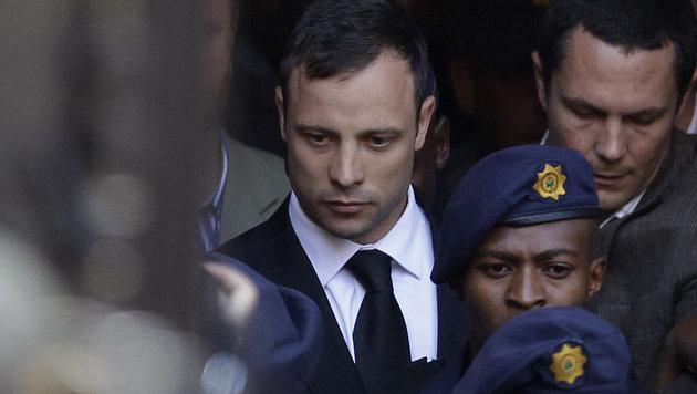 Oscar Pistorius: Wie lang muss er hinter Gitter? (Bild: AP)