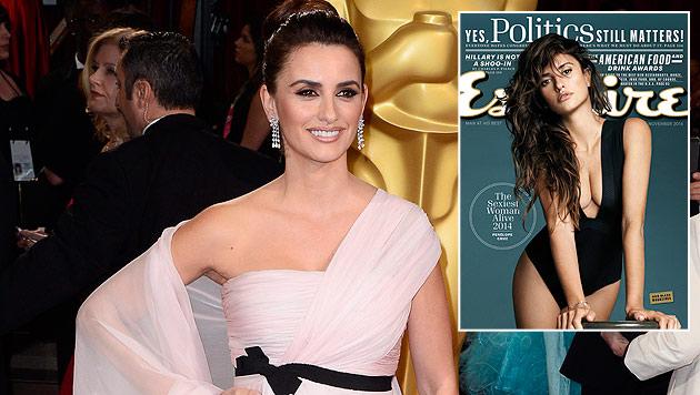 "Penelope Cruz wurde vom ""Esquire"" zur ""Sexiest Woman Alive"" gekürt. (Bild: APA/EPA/PAUL BUCK, AP)"