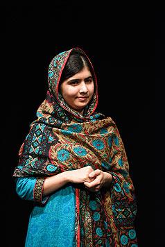 Malala Yousafzai ist mit 17 Jahren die jüngste Friedensnobelpreisträgerin. (Bild: AFP)