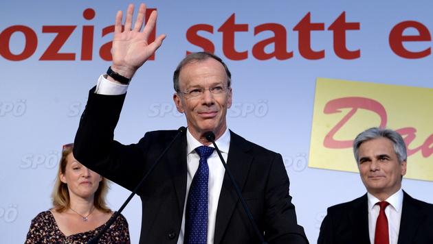 EU-Abgeordneter Eugen Freund trat der SPÖ bei (Bild: APA/EPA/ROLAND SCHLAGER)