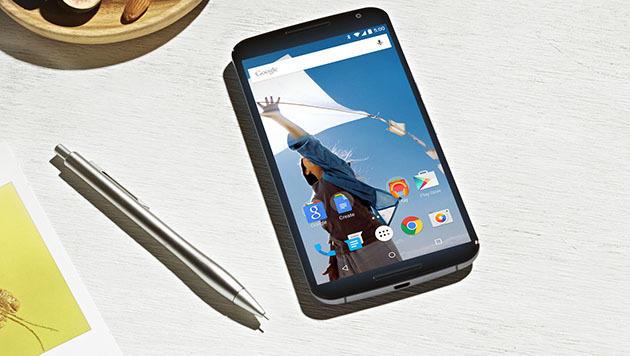 Nexus 6: Wegen iPhone ohne Fingerabdruck-Scanner (Bild: Google)