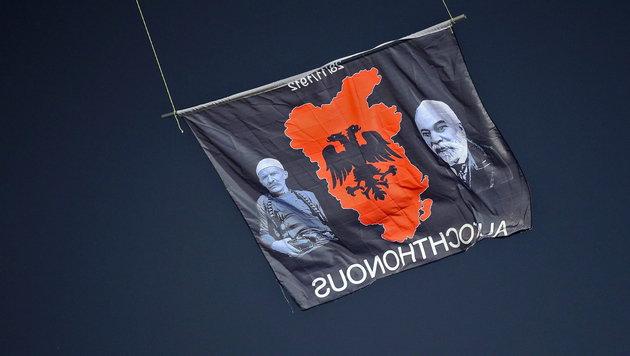 "Im Folgenden weitere ""Eindrücke"" aus Belgrad ... (Bild: APA/EPA/SRDJAN SUKI)"
