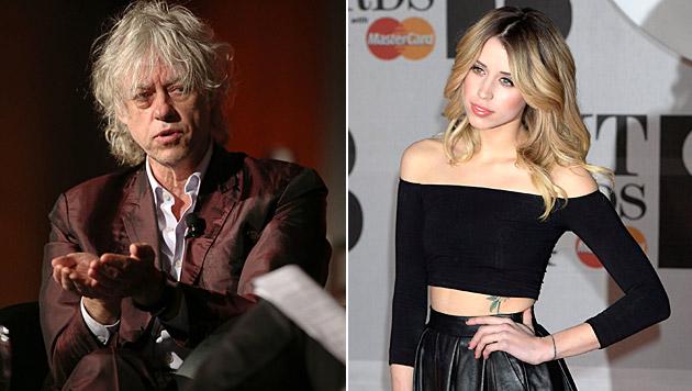"""Bob Geldof über den Tod von Peaches: """"Ich habe als Vater versagt."""" (Bild: APA/EPA/DAVID CROSLING, APA/EPA/FACUNDO ARRIZABALAGA)"""
