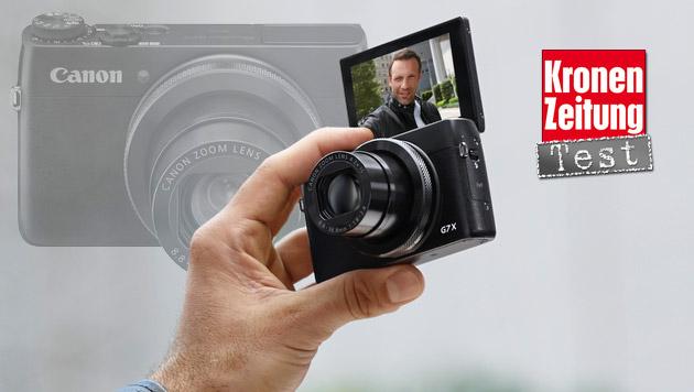 Canon PowerShot G7X: Die Premium-Kompakte im Test (Bild: Canon, krone.at-Grafik)