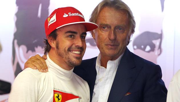 Montezemolo verrät: Alonso verlässt Ferrari (Bild: AP)